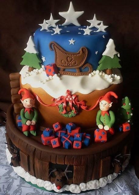Amazing Christmas Cakes  Amazing Christmas Cake Decorating Ideas Styles 7