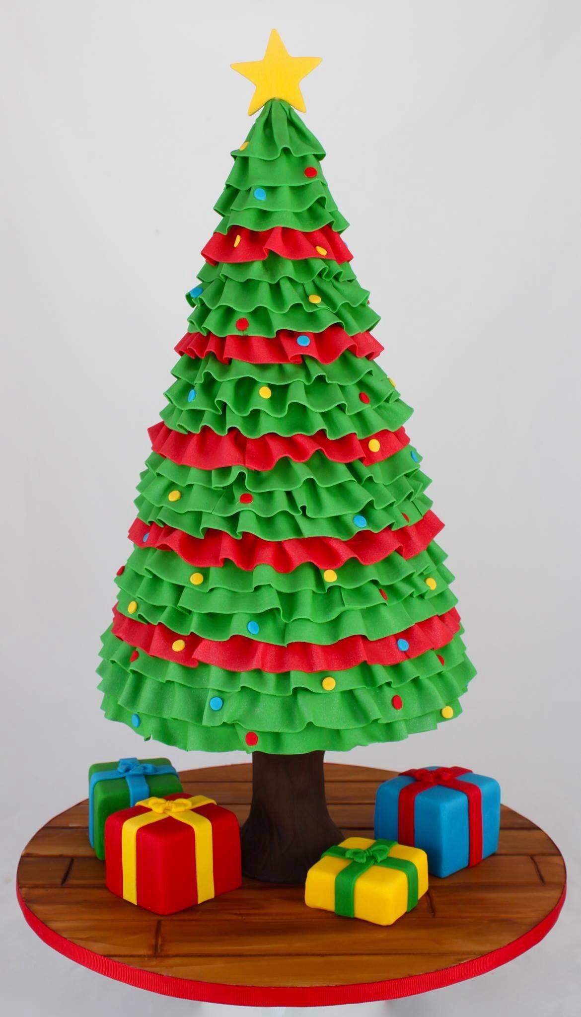 Amazing Christmas Cakes  Amazing Christmas Tree Cake Modelage