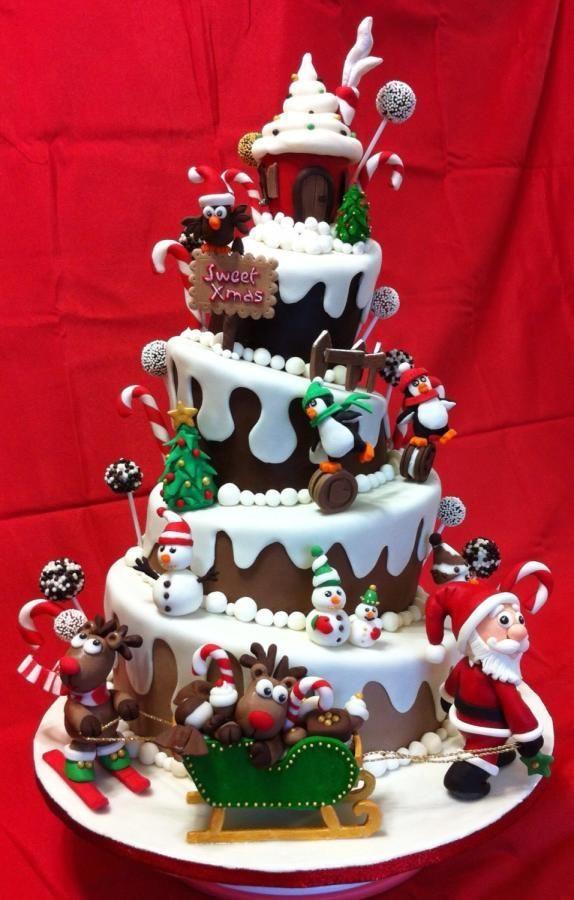 Amazing Christmas Cakes  Christmas Cake Ideas