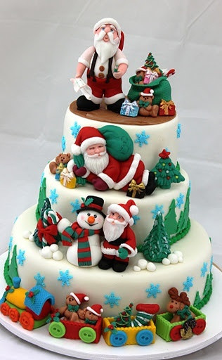 Amazing Christmas Cakes  Christmas Theme Cakes and Cupcakes Cakes and Cupcakes Mumbai