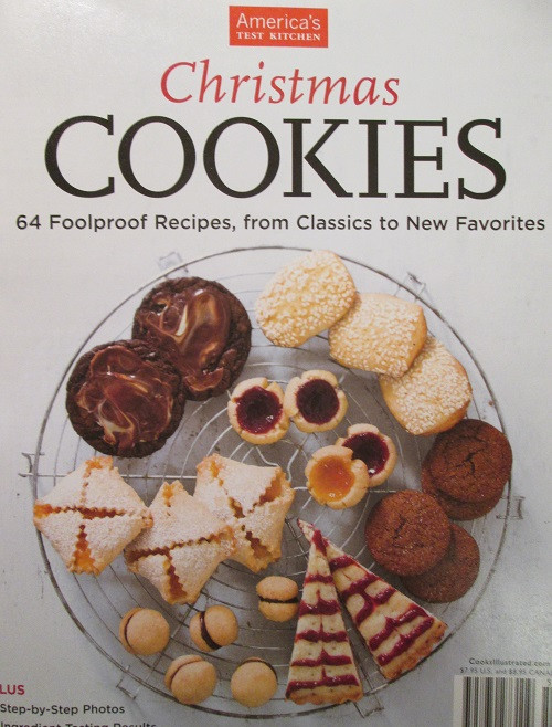 America'S Test Kitchen Christmas Cookies  The Cookbook Christmas Cookies by America's Test Kitchen
