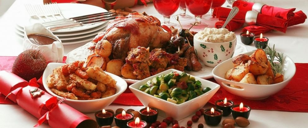 American Christmas Dinner  How Many Calories the Average American Eats on Christmas