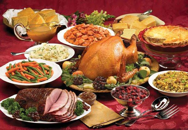 American Christmas Dinner  Best Restaurants Open For Thanksgiving Dinner 2016 In Los