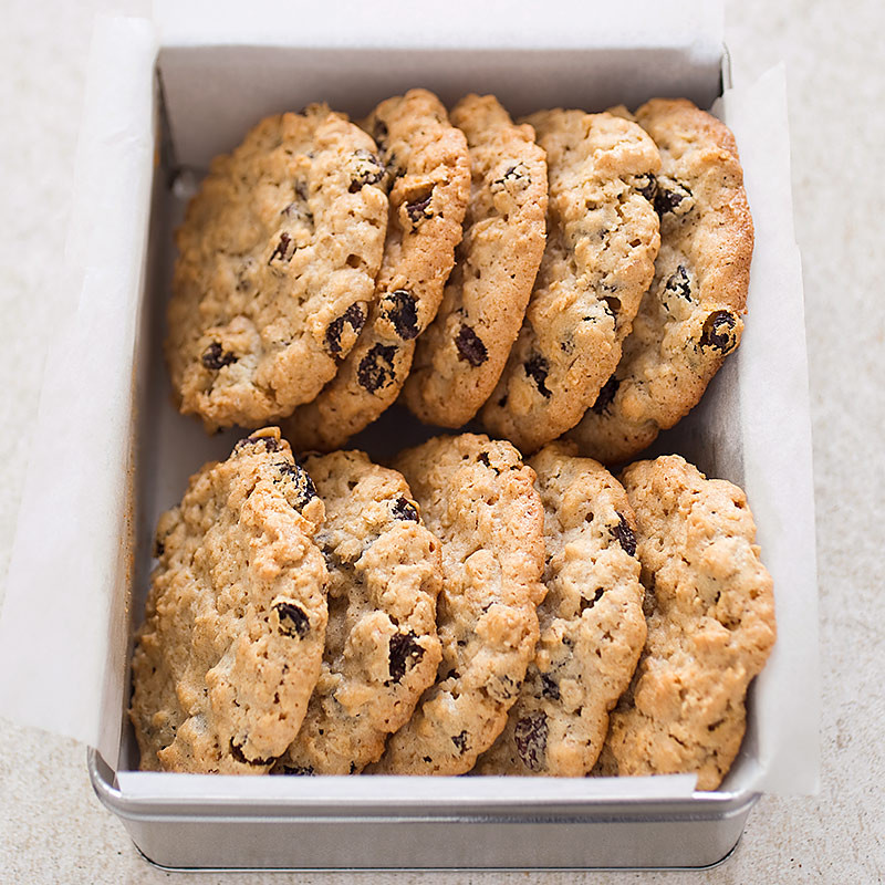 Americas Test Kitchen Christmas Cookies  Big Chewy Oatmeal Raisin Cookies