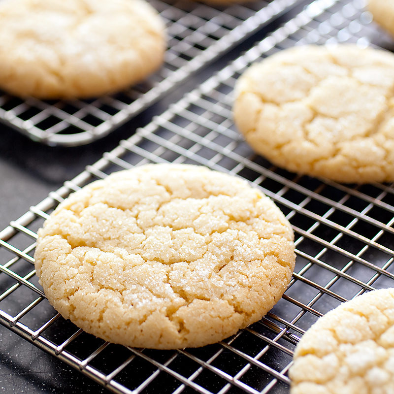 Americas Test Kitchen Christmas Cookies  Chewy Sugar Cookies Recipe America s Test Kitchen