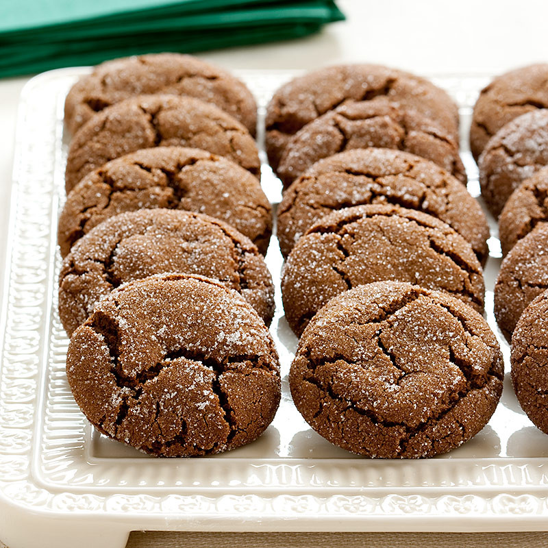 Americas Test Kitchen Christmas Cookies  Soft and Chewy Molasses Spice Cookies Recipe America s