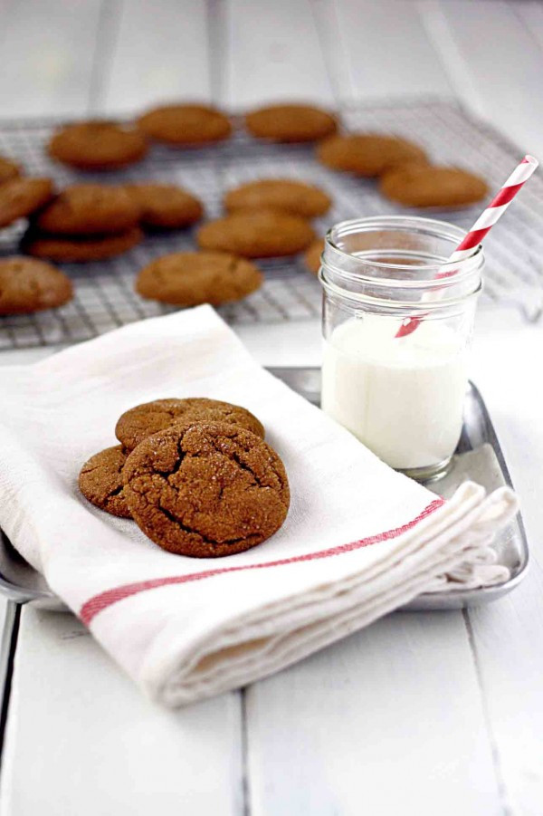 Americas Test Kitchen Christmas Cookies  Soft and Chewy Molasses Spice Cookies • Steele House Kitchen