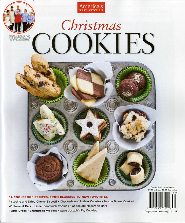 Americas Test Kitchen Christmas Cookies  America's Test Kitchen Christmas Cookies