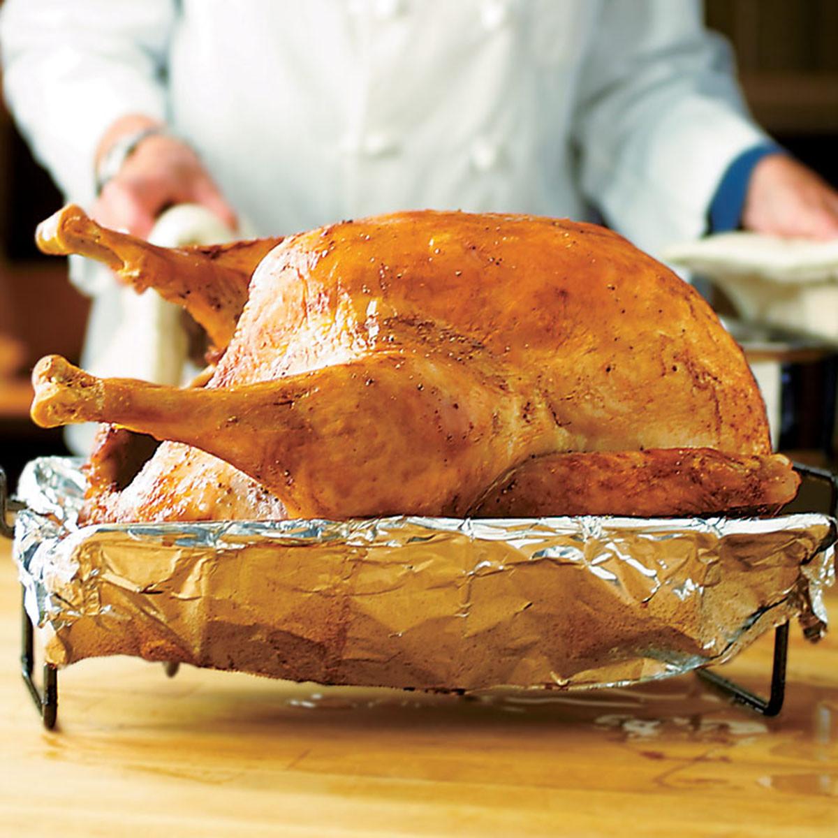 Americas Test Kitchen Thanksgiving Turkey  Turkey for a Crowd Recipe America s Test Kitchen