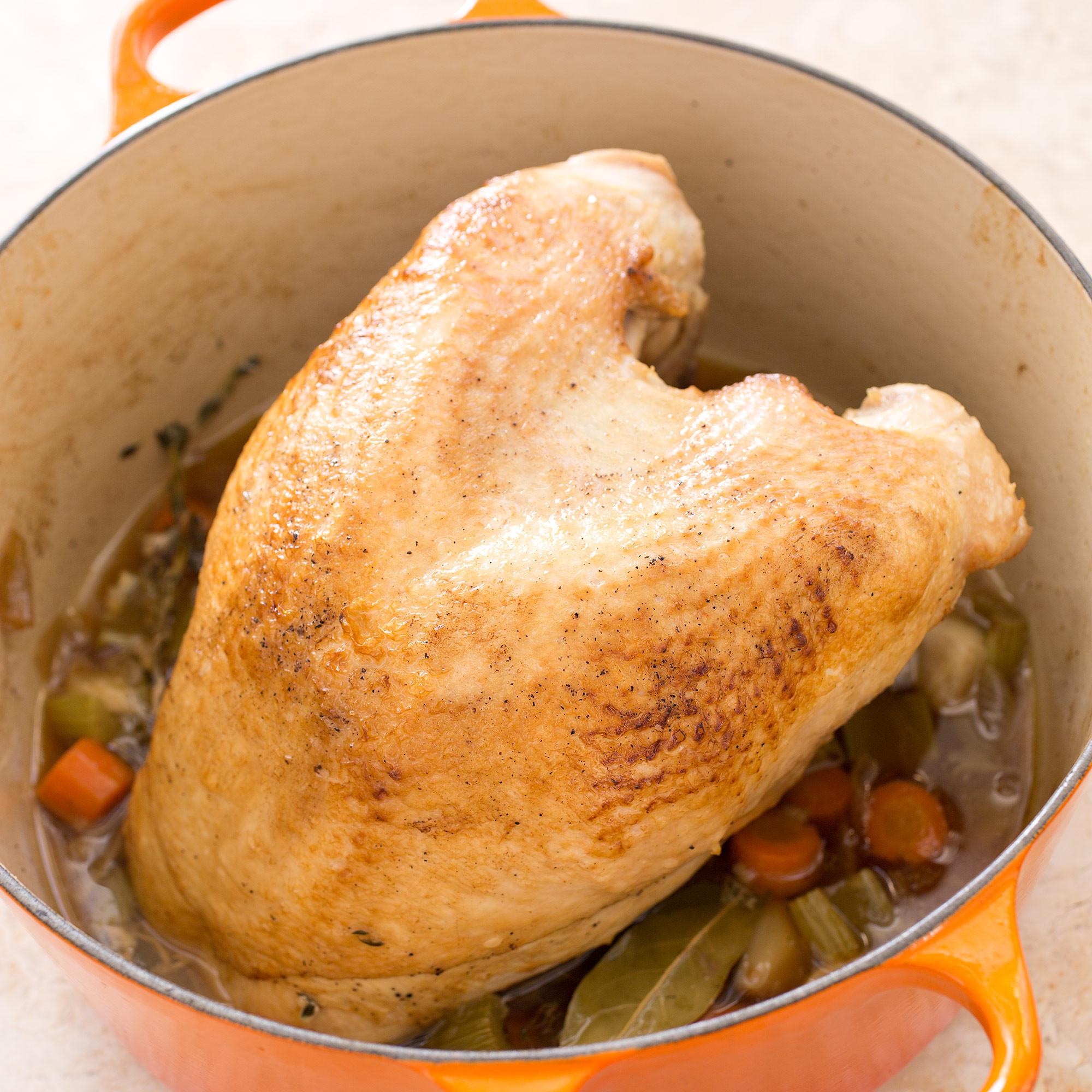 Americas Test Kitchen Thanksgiving Turkey  Turkey Breast en Cocotte with Pan Gravy