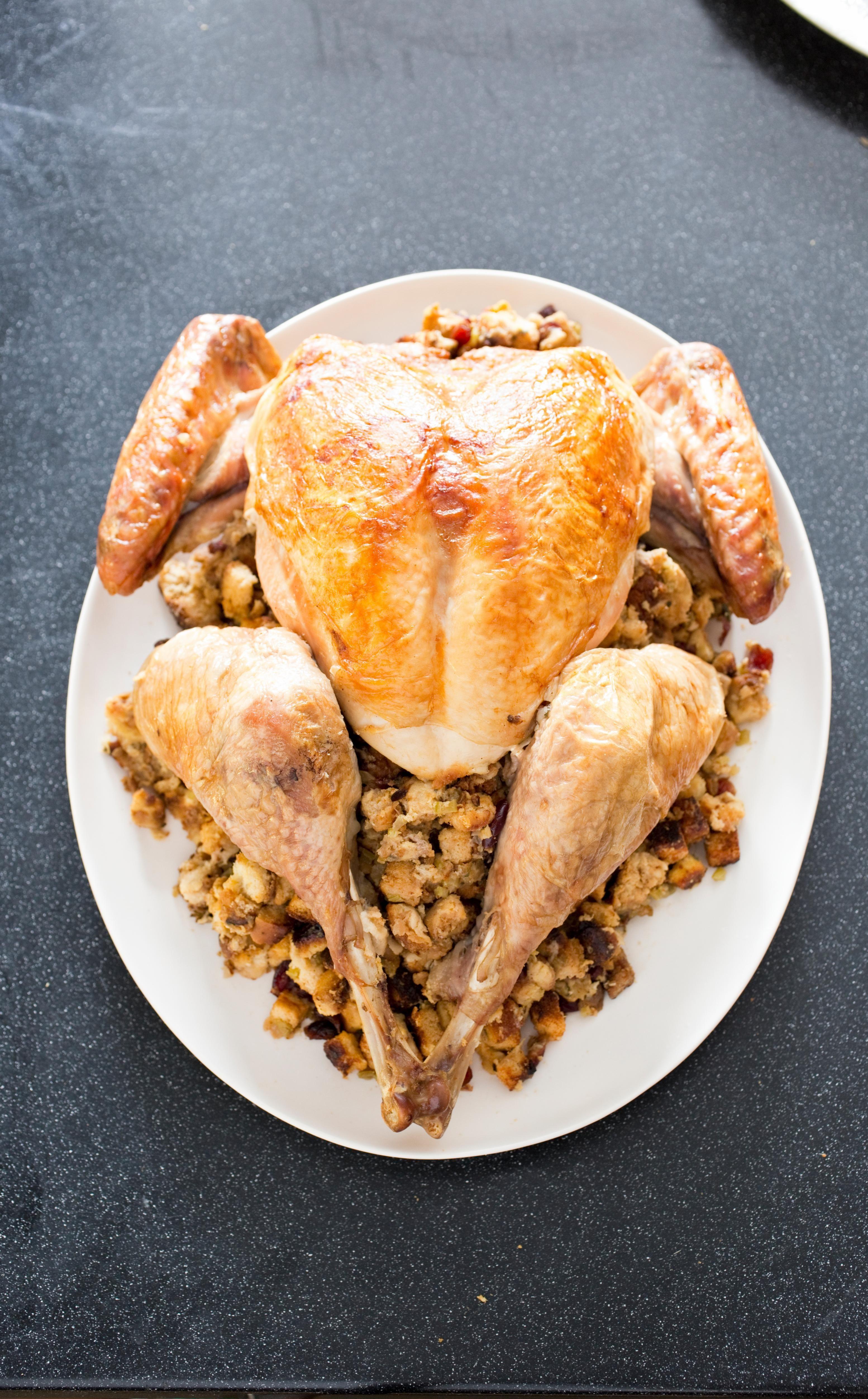 Americas Test Kitchen Thanksgiving Turkey  Julia Child's Thanksgiving Turkey Julia broke apart