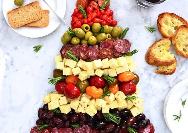 Antipasto Christmas Tree  Antipasti & Appetizers Recipes