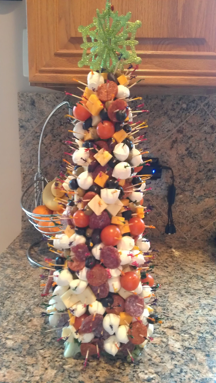 Antipasto Christmas Tree  Appetizer Hors d oeuvre