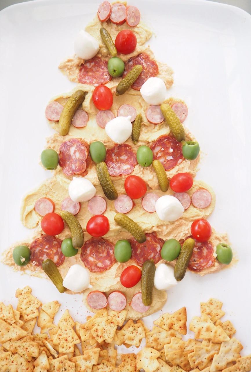 Antipasto Christmas Tree  Antipasto Dip Christmas Tree Cooking for Busy Mums