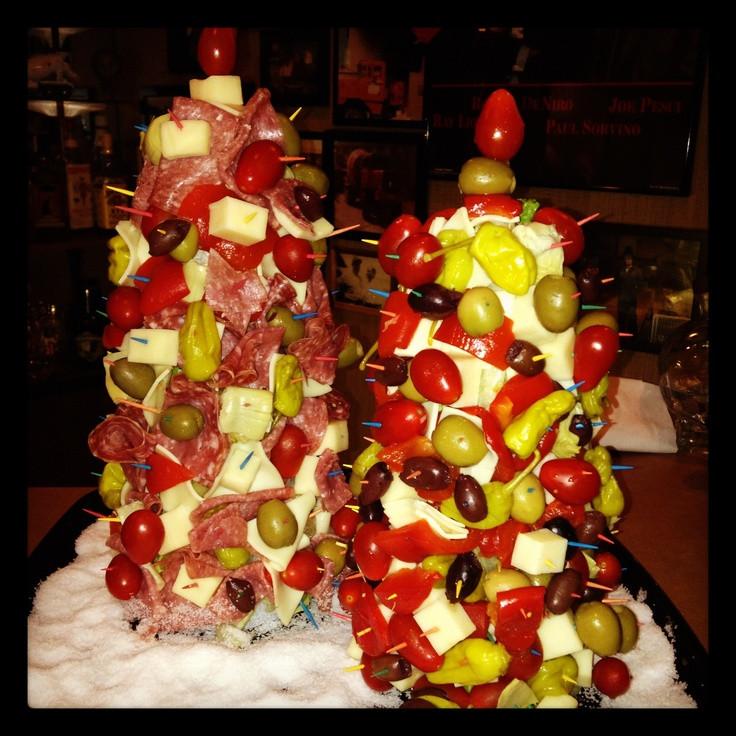Antipasto Christmas Tree  Antipasti Christmas Trees