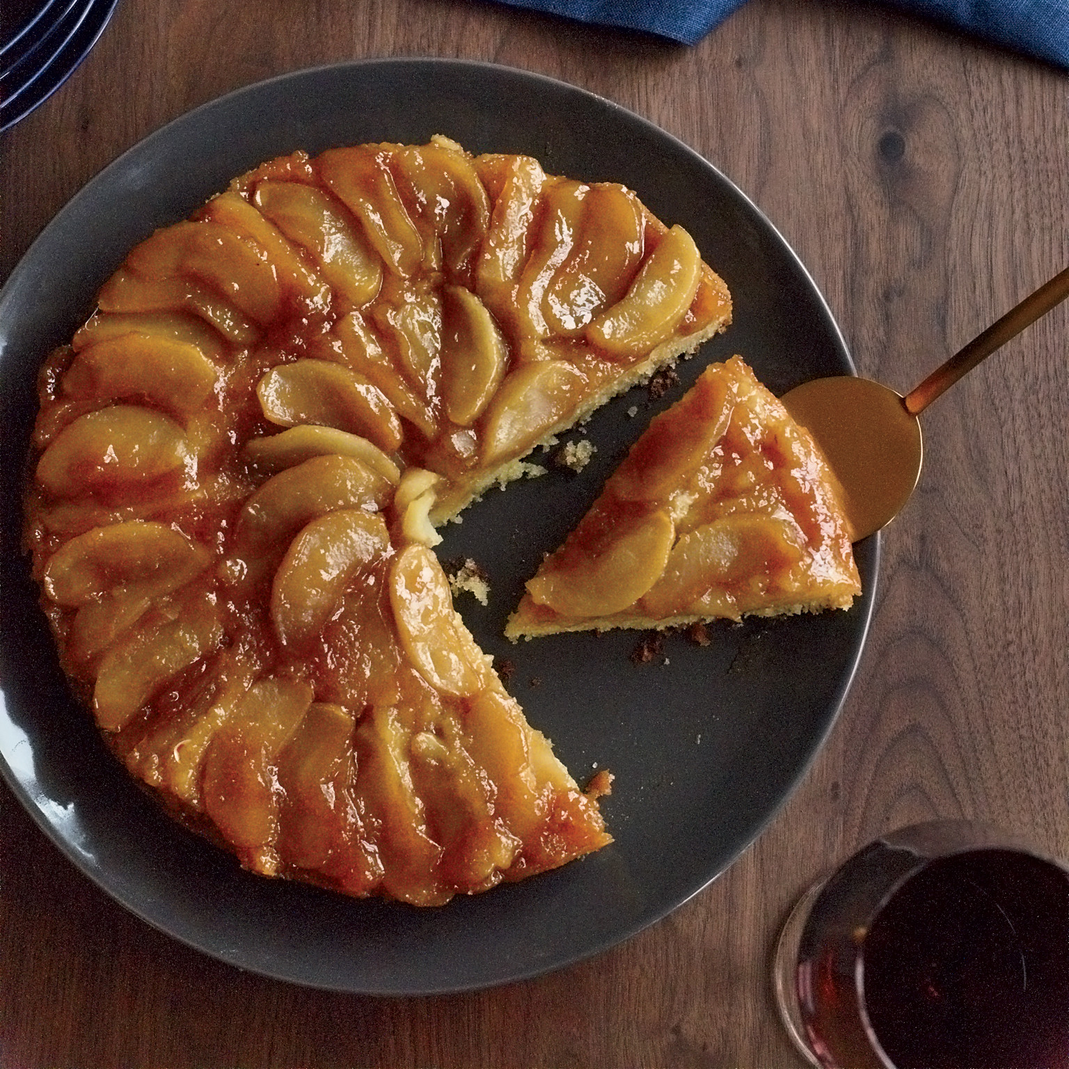 Apple Recipes For Fall  Maple Apple Upside Down Cake Recipe Joanne Chang