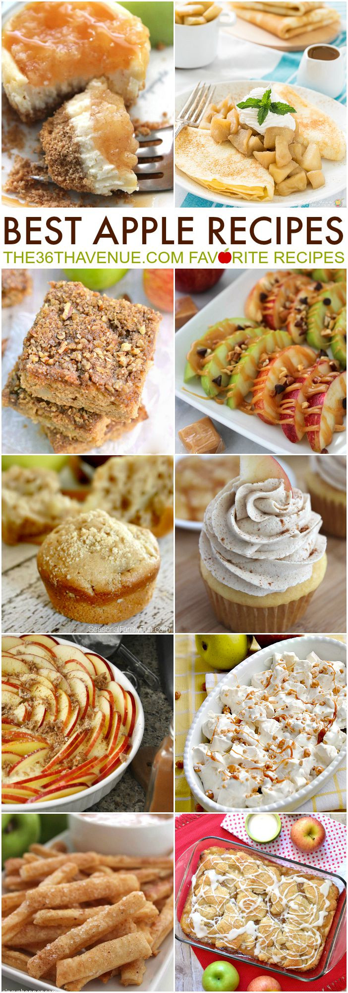 Apple Recipes For Fall  Best Apple Recipes The 36th AVENUE