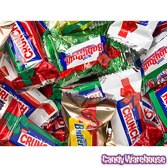 Assorted Christmas Candy  Nestle Christmas Minis Assorted Chocolate Candy 21 5