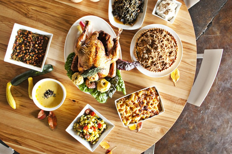 Atlanta Thanksgiving Dinners  Where to Thanksgiving dinner to go in metro Atlanta