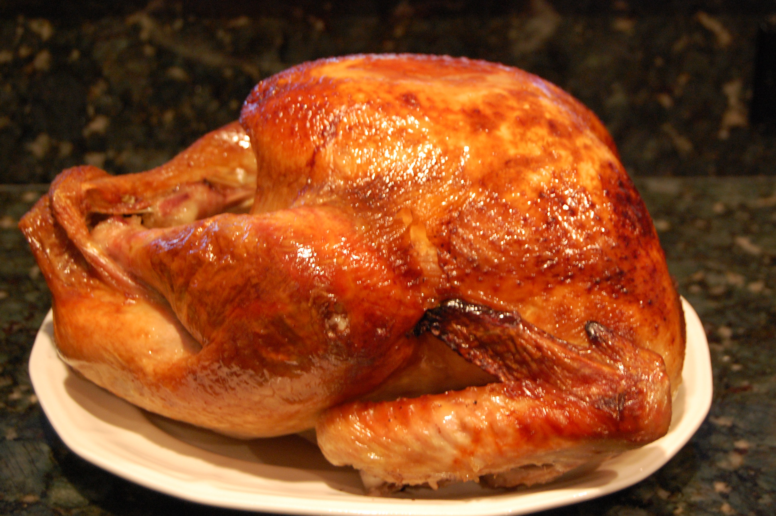 Bake Thanksgiving Turkey  Roasted Turkey