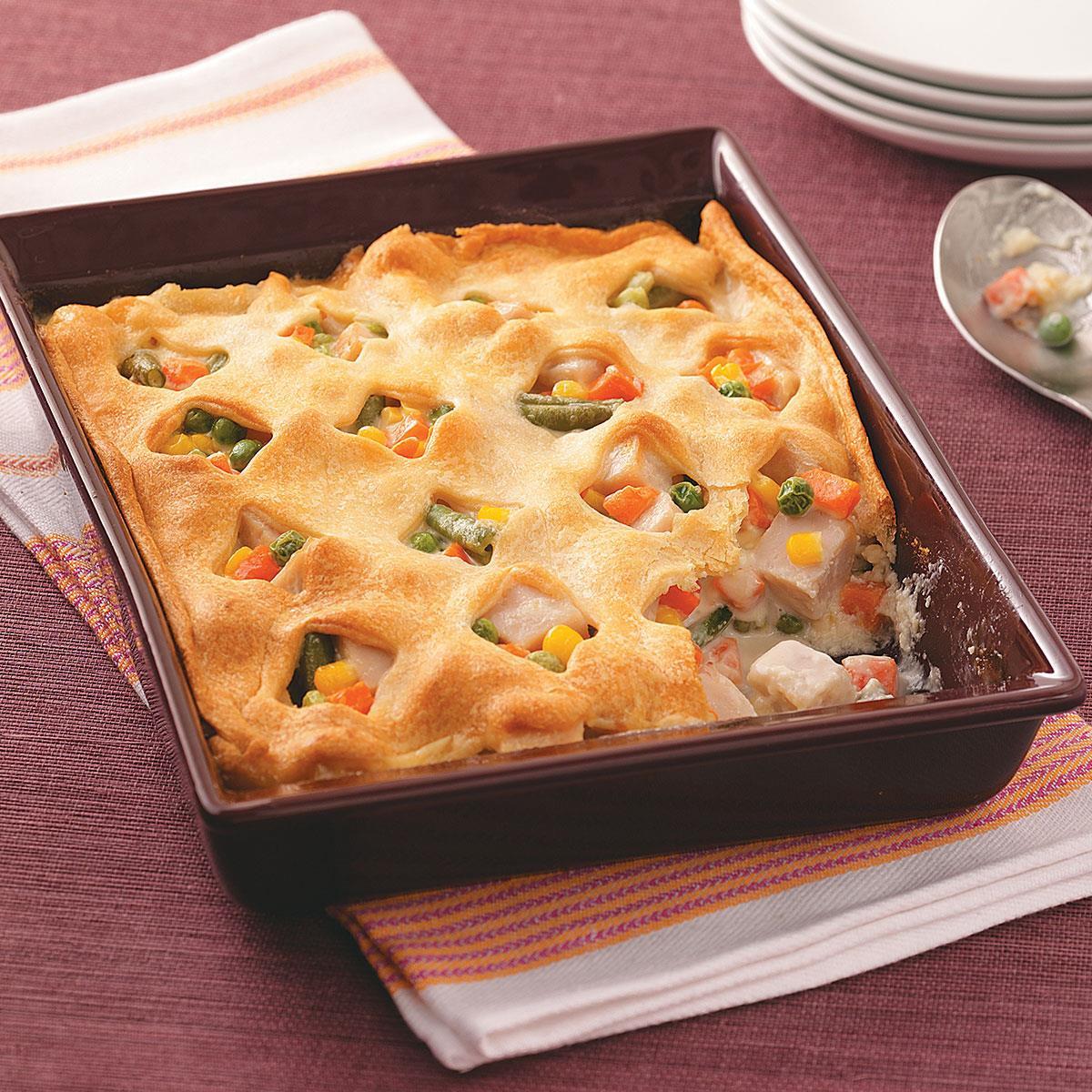 Bake Thanksgiving Turkey  Crescent Turkey Casserole Recipe
