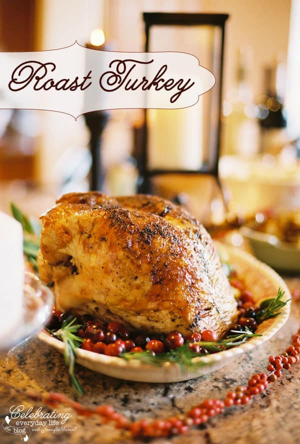 Bake Turkey Recipe For Thanksgiving  A Few of My Favorite Easy Thanksgiving Recipes