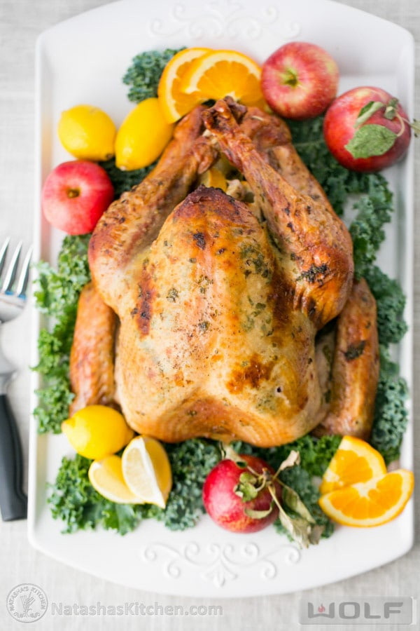 Bake Turkey Recipe For Thanksgiving  Turkey Recipe Juicy Roast Turkey Recipe How to Cook a