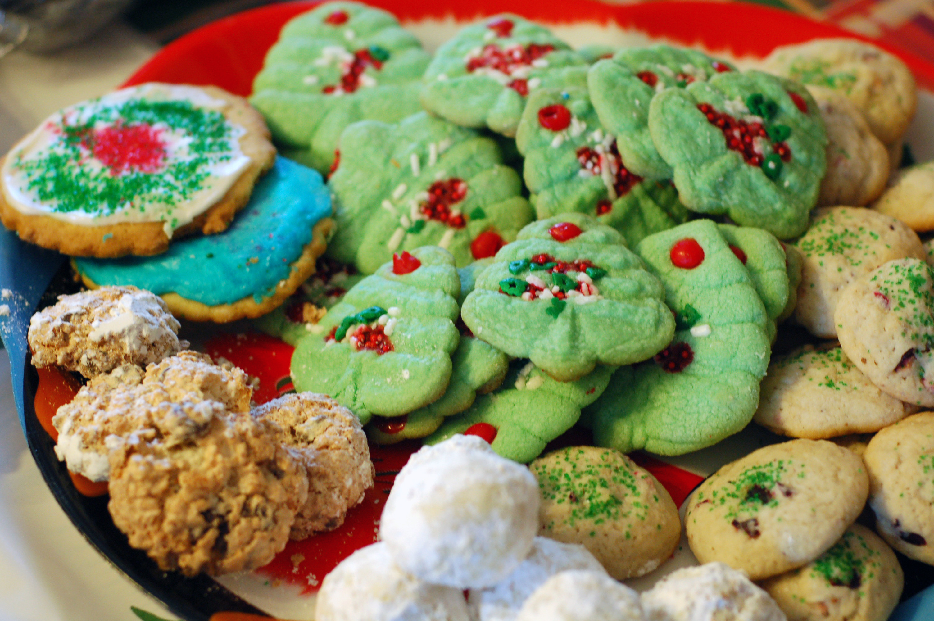 Baked Christmas Cookies  A New Batch Rejects Are Baking In The Oven