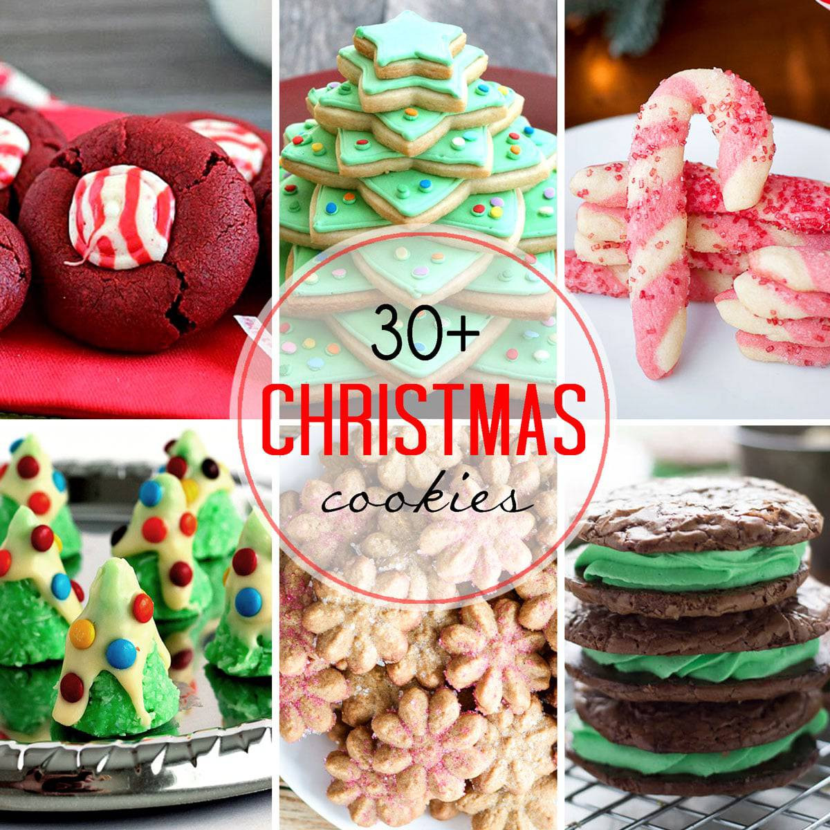 Baked Christmas Cookies  30 Plus Festive Christmas Cookie Recipes — Let s Dish Recipes
