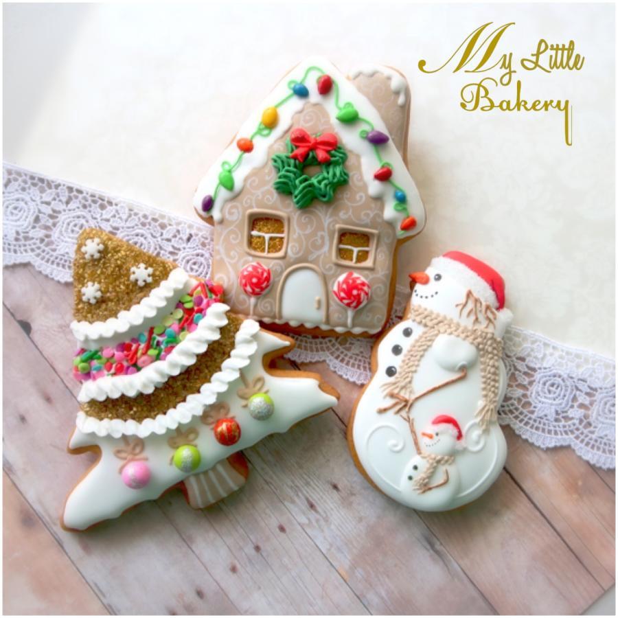 "Bakery Christmas Cookies  Christmas cookies cake by Nadia ""My Little Bakery"