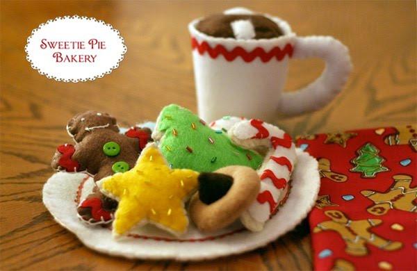 Bakery Christmas Cookies  Sweetie Pie Bakery Christmas Cookies Pattern INSTANT