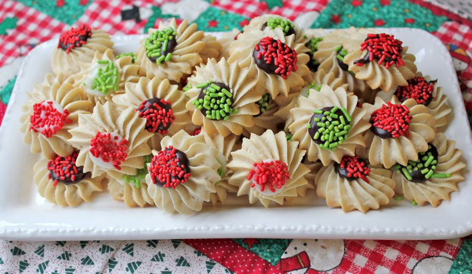 Bakery Christmas Cookies  Christmas Cookie Kickoff — Bakery Italian Butter Spritz