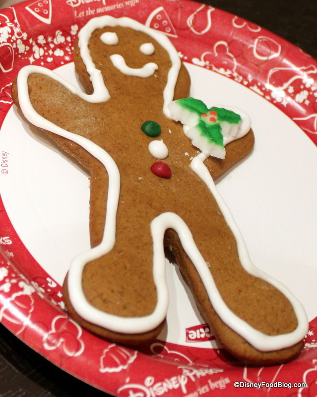 Bakery Christmas Cookies  Review Christmas Cookies at Magic Kingdom