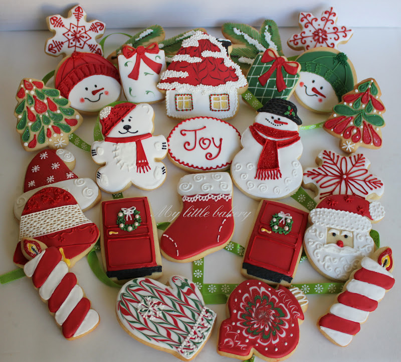 Bakery Christmas Cookies  My little bakery 🌹 Christmas cookie set