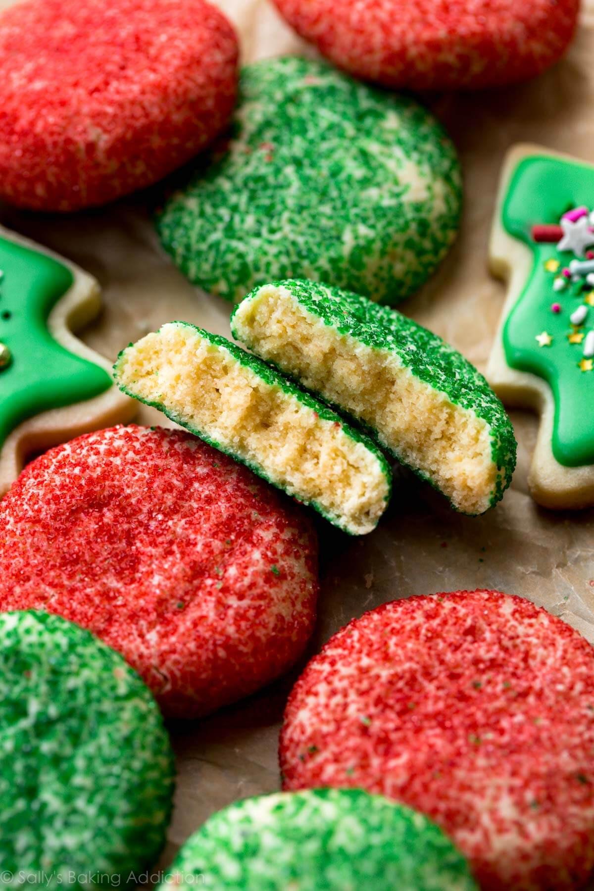 Baking Christmas Cookies  Christmas Cookie Sparkles Sallys Baking Addiction