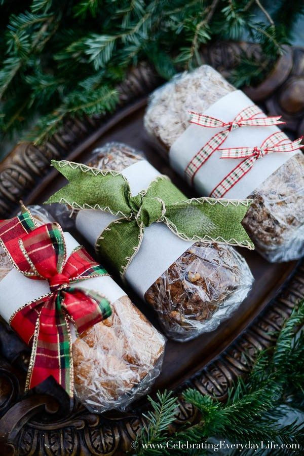 Baking Christmas Gifts  How to Wrap Baked Goods