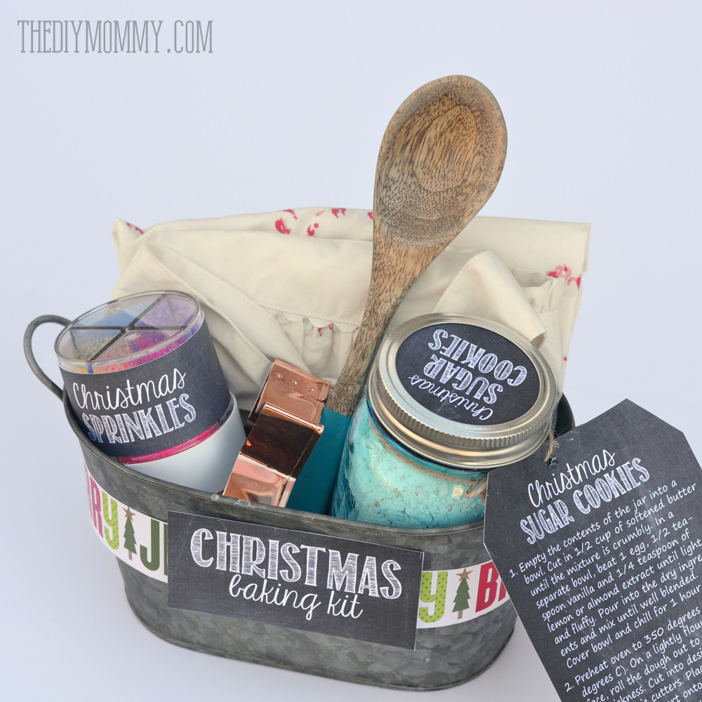 Baking Christmas Gifts  A Gift in a Tin Christmas Baking Kit