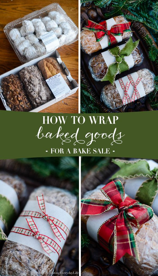 Baking Christmas Gifts  25 best ideas about Bake Sale Packaging on Pinterest
