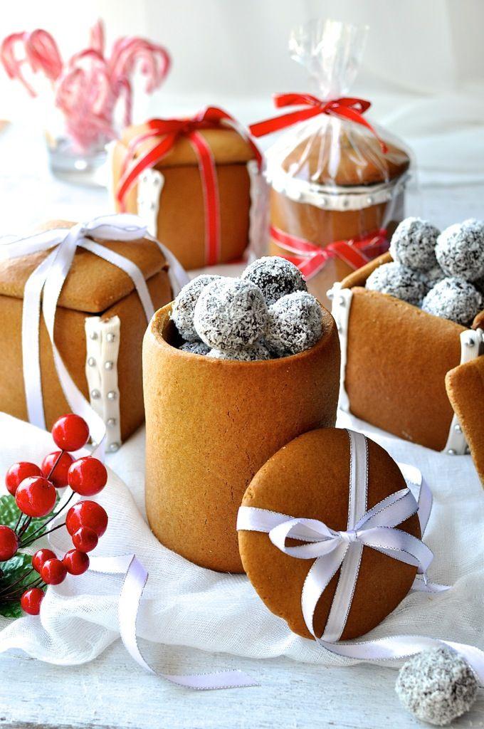 Baking Christmas Gifts  Gingerbread Box & Mason Jars Recipe
