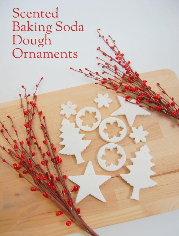 Baking Christmas Ornaments  Scented Baking Soda Dough Ornaments northstory