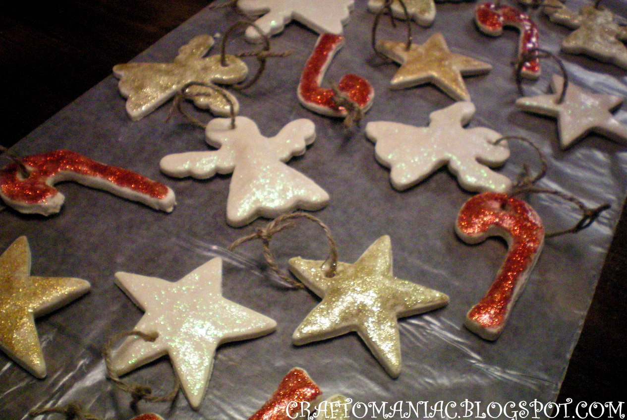 Baking Christmas Ornaments  Baked Christmas Ornaments Craft O Maniac
