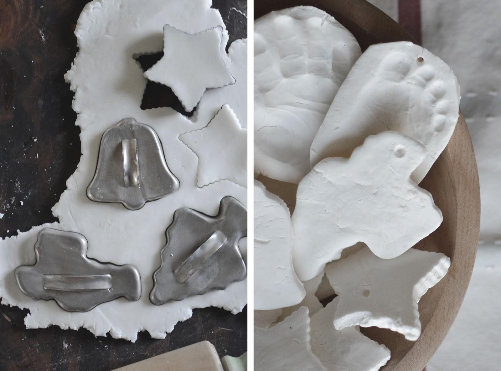 Baking Christmas Ornaments  DIY Baking Soda Clay Ornaments