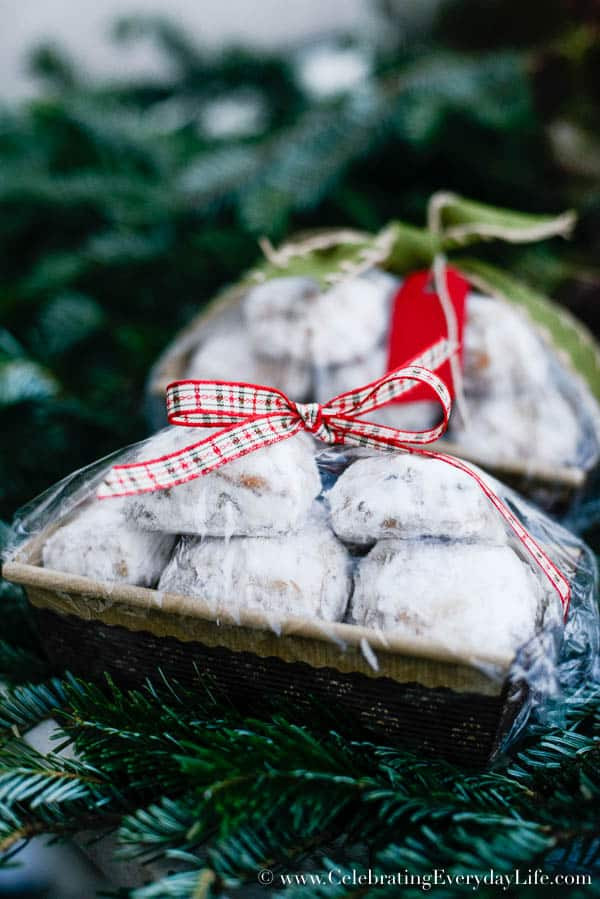 Baking Goods For Christmas Gifts  How to Wrap Baked Goods Celebrating everyday life with