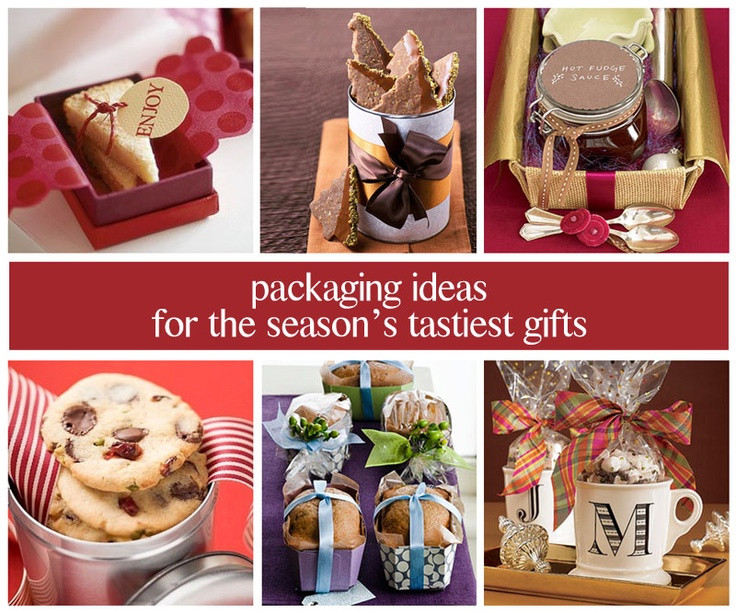Baking Goods For Christmas Gifts  13 best images about Baked Good Packaging on Pinterest