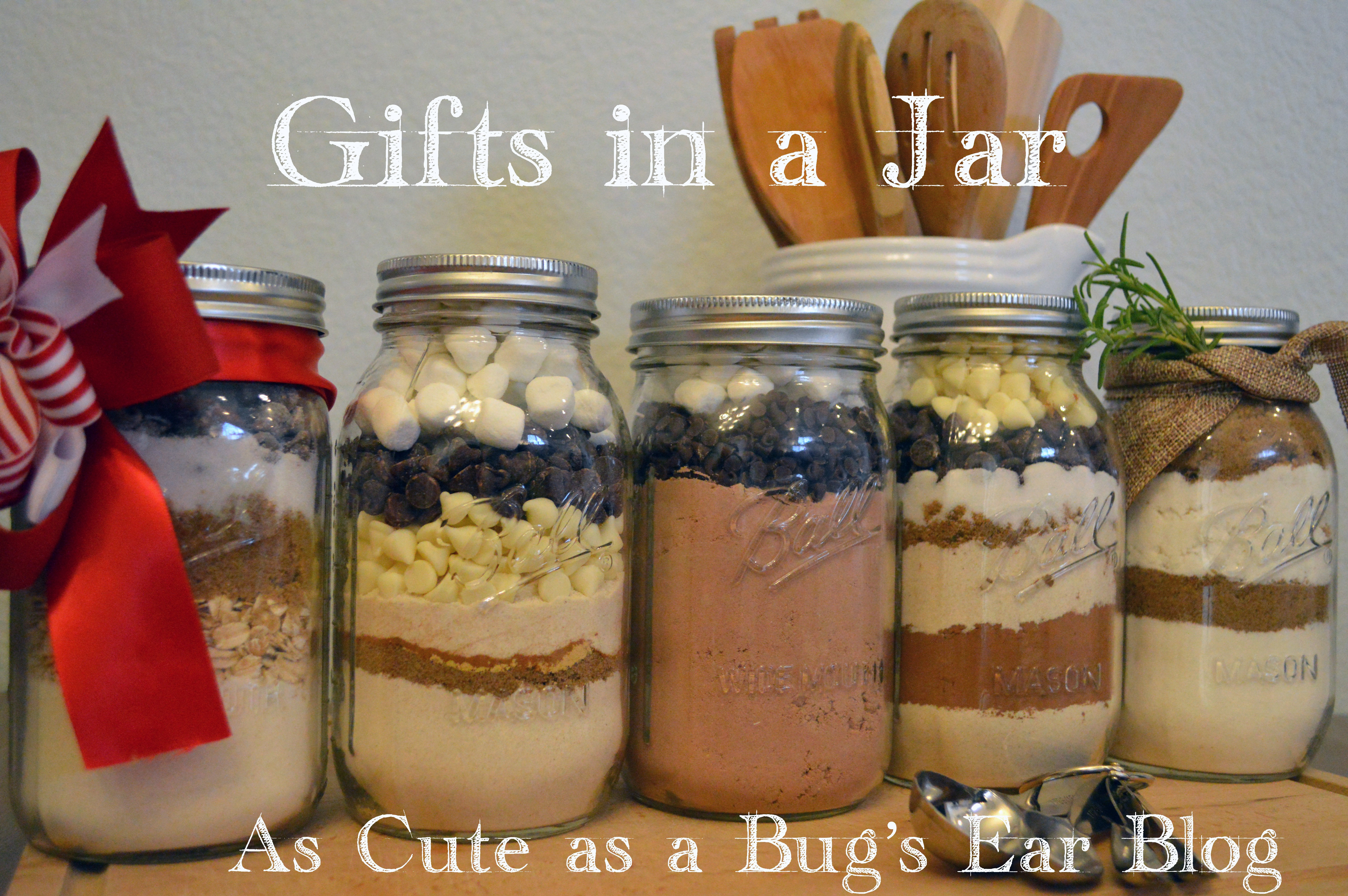Baking Goods For Christmas Gifts  5 DIY Holiday Baked Goods in a Jar