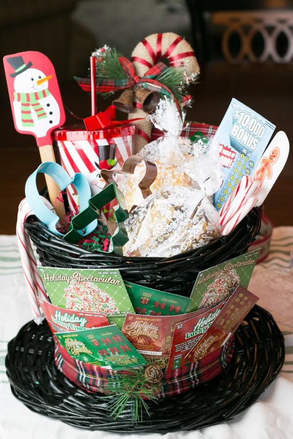 Baking Goods For Christmas Gifts  Baking Lovers Gift Basket with NJ Lottery LeMoine Family