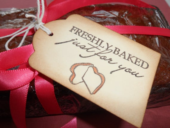 Baking Goods For Christmas Gifts  Items similar to Freshly Baked Just for You Baked Goods