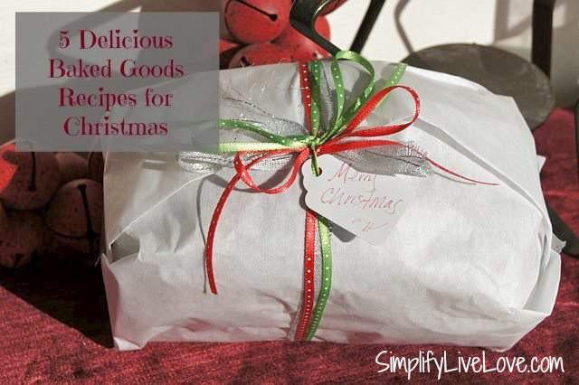 Baking Goods For Christmas Gifts  Cinnamon Raisin Bread 4 Other Baked Goods Gift Ideas