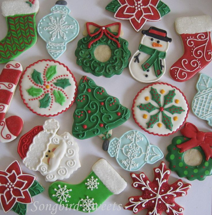 Beautiful Christmas Cookies  Christmas Collection
