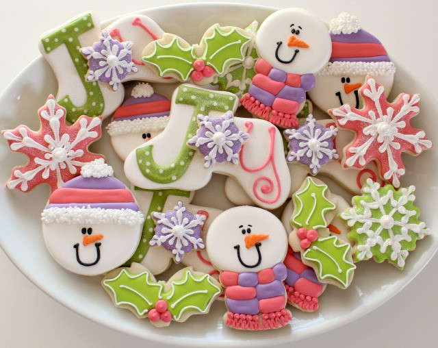 Beautiful Christmas Cookies  Joyful Christmas Cookies – Glorious Treats